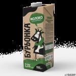 Молоко Буренка 2.5% ультрапастеризоване тетрапакет 1 л Україна Молочні продукти