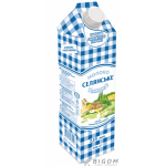 Молоко Селянське 2.5% суперпастеризоване тетрапакет 950 мл Україна Молочні продукти