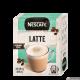 Напій кавовий Nescafe 3 в 1 Latte Чай, кава, какао