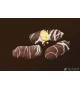 Печиво Мі Мі Кукурудзяні палички в білій глазурі 0.8 кг