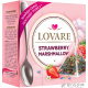 Чай Lovare Strawberry Marshmallow в пірамідках 15*2 г Чай, кава, какао