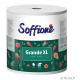 Рушник Soffione Grande XL Білий 2шар/1шт/500відривів Господарські товари